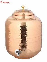 Copper Matka / Water Tank - Leakage Proof (8 Ltr)