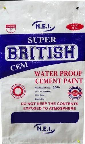 Cement Paint Bag