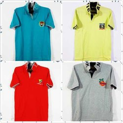 Collar Neck Plain Fancy T Shirts