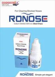 RONOSE Sodium Chloride Benzalkonium Chloride, Packaging Type: Drop