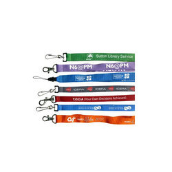 Digital Printing Indian Satin Lanyard
