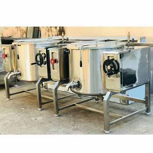 30 Liter SS Tilting Boiling Pan for Industrial