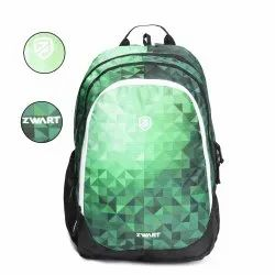 Rainbow-Green School Bag