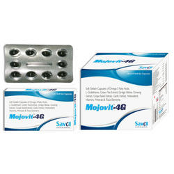 Multivitamin, Multimineral with 4G Softgel Capsule, Packaging Type: Blister, Packing Size: 1x10 Softgel Capsule