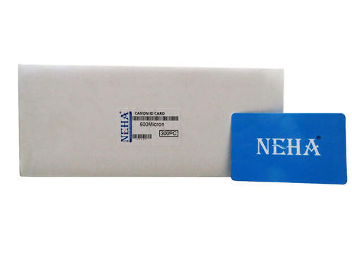 CANON PVC CARD - Neha PVC Card For Use In Canon Inkjet