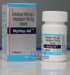Myhep All Velpatasvir 100mg Sofosbuvir 400mg