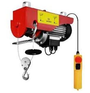 Damar 50 Hz Mini Electric Wire Rope Hoist Pa500 Capacity