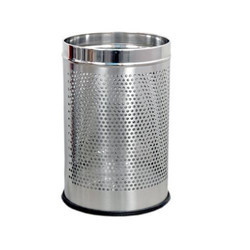Steel Dustbin Perforated 7x10