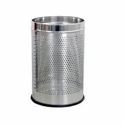 Perforated Steel Dust Bin