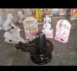 Shiv Pariwar Marble Statue