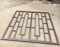 In Workshop Iron Window Grills, For Safety