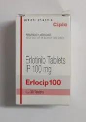 Erlocip 100mg Tablets, Cipla, 1x30
