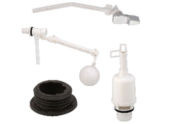 Manvi Sanitary White Molex- NO-55 Cistern Handle Heavy for Bathroom Fitting