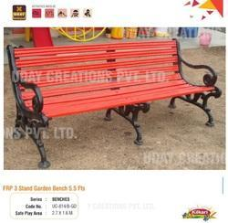 FRP 3 Stand Garden Bench 5.5 Ft