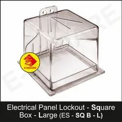Large Electrical Panel Lockout Square Box