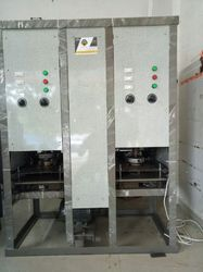 Fully Automatic Double Die Dona And Thali Making Machine