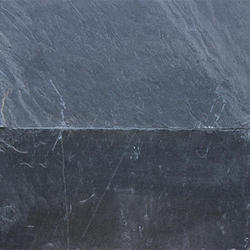 For Kitchen Top And Flooring Black Slate Stone, Thickness: 5 Mm To 20 Mm