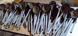 Coconut shell natural ladles
