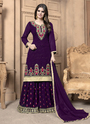 Georgette Party Wear Sharara Suits