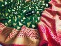 Banarasi Muslin Kora Organza Silk Sarees