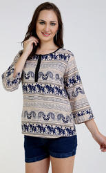 Women Printed  Top
