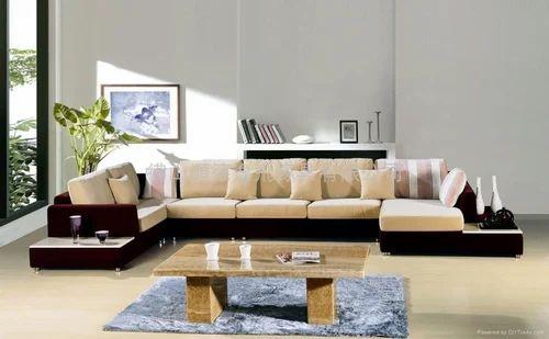 8 Seater Corner Sofa With Stool