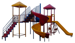 FRP Outdoor Multi Play Station