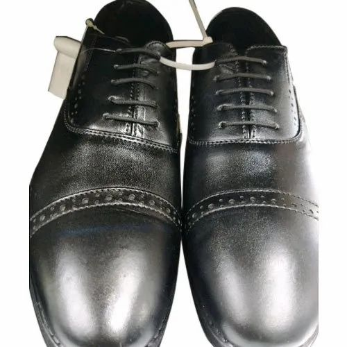 Black Casual Wear Formal Less Shoes