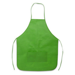 Green Non Woven Disposable Apron