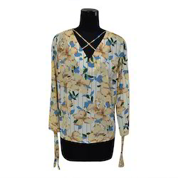 Floral Print Top, Size: S & M