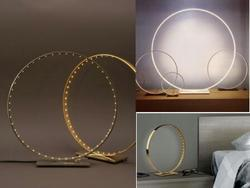 Round Led Desk Lamp