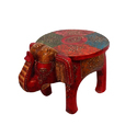 Designer Wooden Elephant Stool