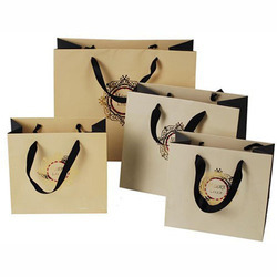 Yessir Printed Designer Paper Bag, Packaging Type: Cartons