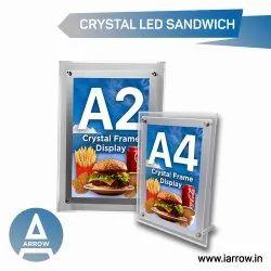 Crystal LED Frame
