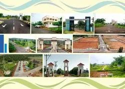 RESIDENTIAL Cash Vuda Gated Community Open Plots and Houses At Duvvada for Sale, in VIZAG, Size/ Area: 1200SFT
