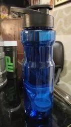 Blue Plastic Water Bottle, for Household, Capacity: 500 ml - 6 ltr