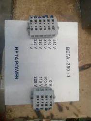 Beta Power Single Phase 350VA Control Transformer, For Industrial