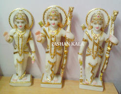 Beautiful Marble Ram Darbar Statue