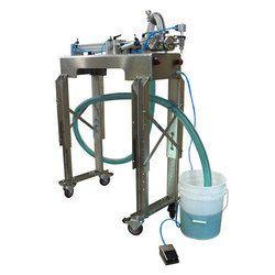 Semi Automatic Volumetric Piston Filling Machine
