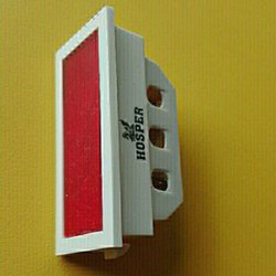 Hosper Polycarbonate Indicator Electric Switch, 12 V, ON/OFF