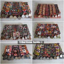 Vintage Embroidery Handmade Banjara Clutch Bag