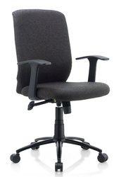 City Ergonomic Chair in Black Color by Oblique