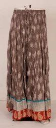 Ladies Designer Long Skirts
