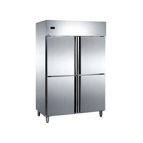 Four Door Commercial Refrigerator, Double Door