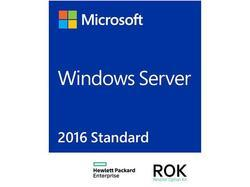 HPE Microsoft Windows Server 2016 Standard ROK 16 Core