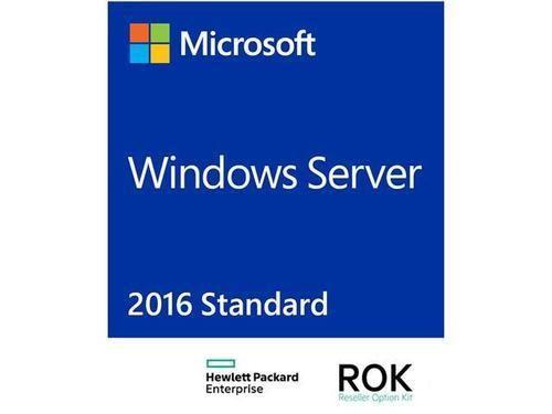 Microsoft Software - HPE Microsoft Windows Server 2016