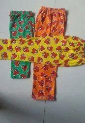 Oreng Green Yellow Coton Kides Pant