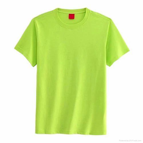 14f9e2d61 Medium Plain Light Green T Shirt, Rs 150 /meter, Divi International ...