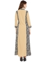 Maxi Dress Beige Colour