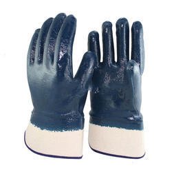 Nitrile Safety Full Coated Gloves